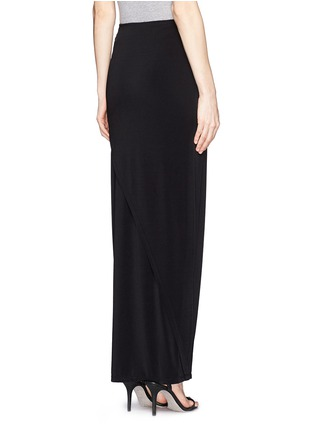 Back View - Click To Enlarge - alice + olivia - Wrap front maxi skirt