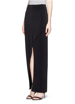 Front View - Click To Enlarge - alice + olivia - Wrap front maxi skirt