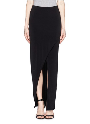 Main View - Click To Enlarge - alice + olivia - Wrap front maxi skirt