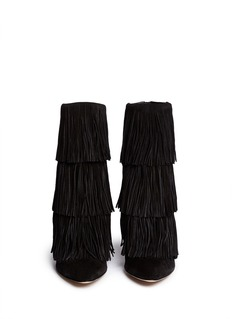 PAUL ANDREW 'Taos' suede fringe boots