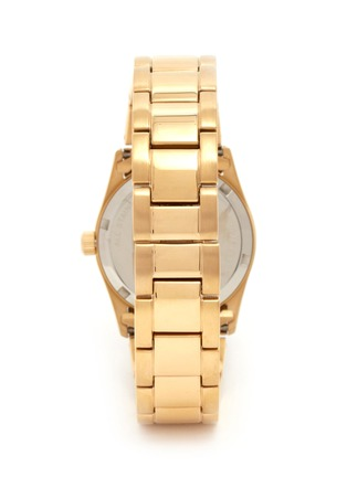 Back View - Click To Enlarge - CARAT* - Chelsea gold-tone (white) watch
