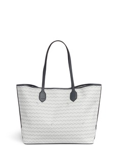Reflections Copenhagen 'Lulu MM' basketweave effect coated canvas tote