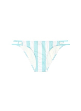 Main View - Click To Enlarge - Solid & Striped - 'Thea' stripe bikini bottoms