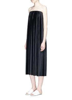 The Row'Drisla' strapless plissé pleated dress
