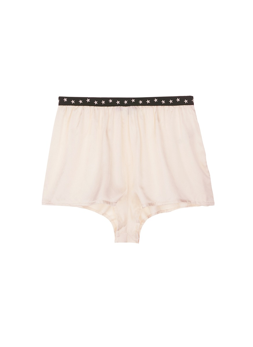 Edie S satin pyjama shorts by Love Stories
