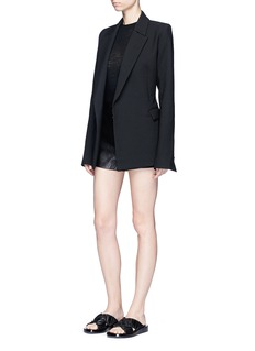 Georgia Alice 'Void' belted blazer