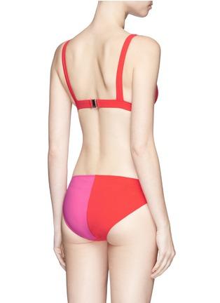 Back View - Click To Enlarge - Araks - 'Mica' darted bikini top