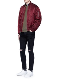 TopmanSlim fit ripped jeans