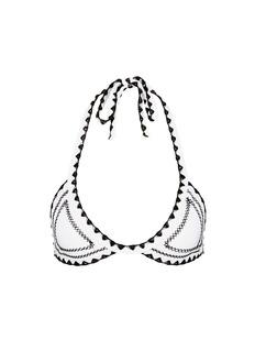 Sameswim'The Catch' stitched triangle bikini top