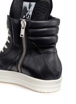 'Geobasket' high top leather sneakers