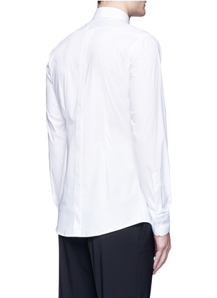Back View - Click To Enlarge - Dolce & Gabbana - 'Gold' slim fit cotton shirt