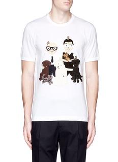 Dolce & GabbanaDG FAMILY patch T-shirt