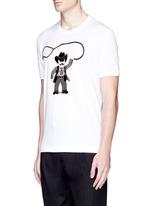 Sicilian cowboy appliqué T-shirt