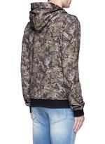 Digital camouflage print hoodie