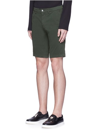 Front View - Click To Enlarge - Dolce & Gabbana - Stretch twill military shorts