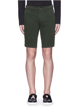 Main View - Click To Enlarge - Dolce & Gabbana - Stretch twill military shorts