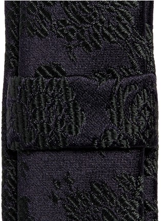 Dolce & Gabbana-Floral jacquard silk tie
