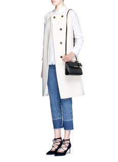MICHAEL KORS'Ava' petite saffiano leather crossbody bag