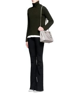 MICHAEL KORS'Sutton' small saffiano leather satchel