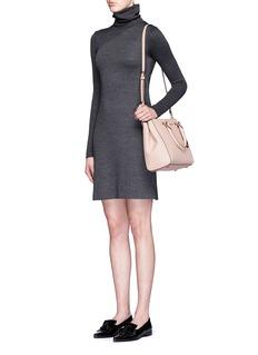 MICHAEL KORS'Sutton' medium saffiano leather satchel