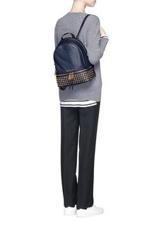 MICHAEL KORS'Rhea' small stud leather backpack
