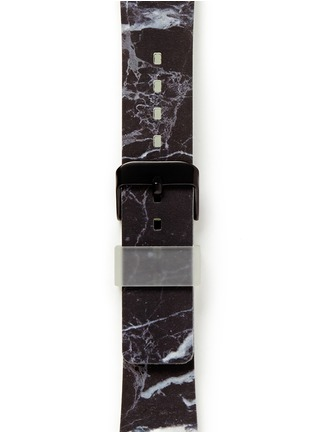 Detail View - Click To Enlarge - Casetify - Black marble print 38mm Apple Watch bracelet