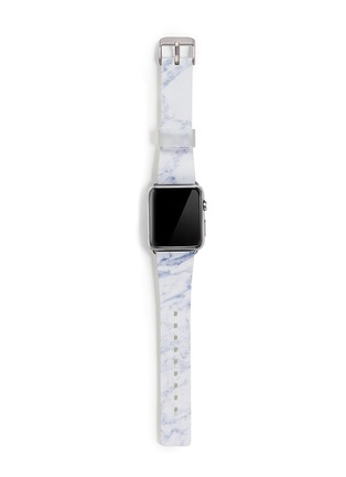Main View - Click To Enlarge - Casetify - White marble print 38mm Apple Watch bracelet