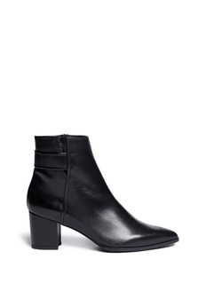 STUART WEITZMAN 'Banjosvelt' zip leather boots