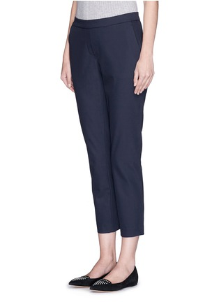 Front View - Click To Enlarge - Theory - 'Thaniel' elastic waist twill pants