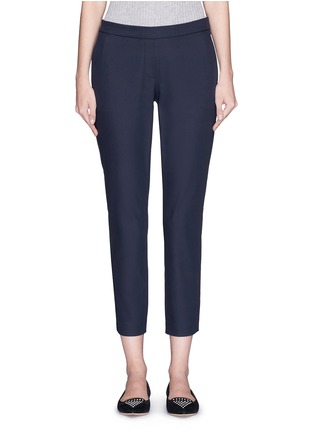 Main View - Click To Enlarge - Theory - 'Thaniel' elastic waist twill pants