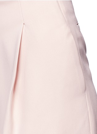 Detail View - Click To Enlarge - Nicholas - Double bonded crepe wide culottes