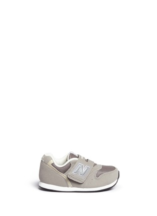 Main View - Click To Enlarge - New Balance - '996' suede mesh toddler sneakers