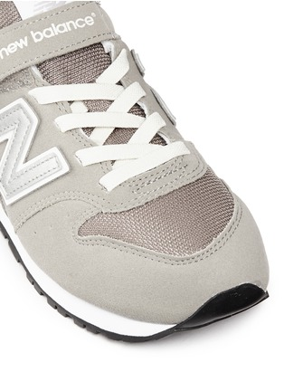 Detail View - Click To Enlarge - New Balance - '996' suede mesh kids sneakers