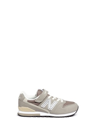 Main View - Click To Enlarge - New Balance - '996' suede mesh kids sneakers