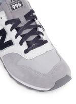 '996' mixed media sneakers