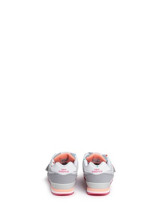 Back View - Click To Enlarge - New Balance - '574' colourblock suede toddler sneakers