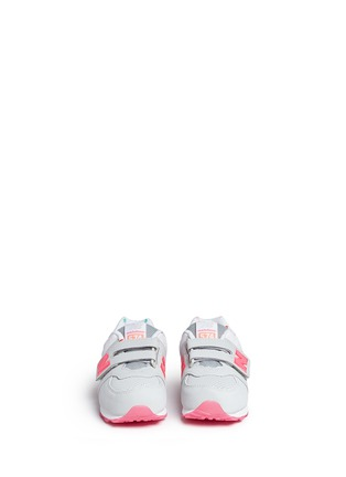 Figure View - Click To Enlarge - New Balance - '574' colourblock suede toddler sneakers