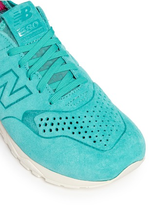 Detail View - Click To Enlarge - New Balance - '580' mesh sock suede sneakers