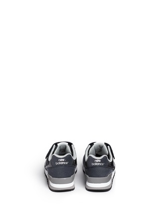 Back View - Click To Enlarge - New Balance - '996' suede mesh kids sneakers