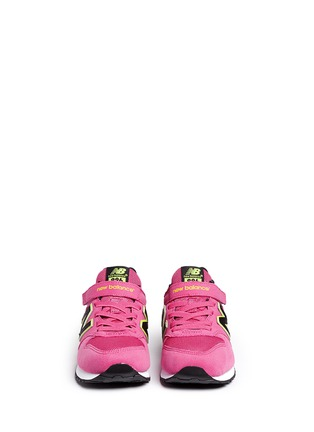 Figure View - Click To Enlarge - New Balance - '996' textile strap kids sneakers