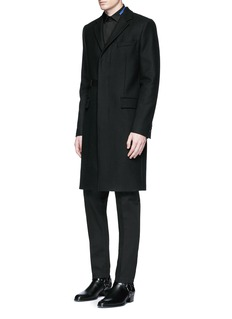 Givenchy Belted wool blend coat