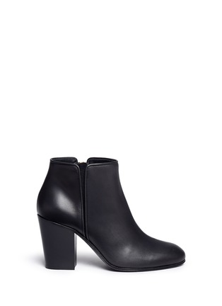 Main View - Click To Enlarge - Giuseppe Zanotti Design - 'Nicky' leather ankle boots