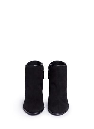 正面 -点击放大 - GIUSEPPE ZANOTTI DESIGN - NICKY仿水晶绒面皮短靴
