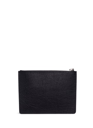 Back View - Click To Enlarge - Giuseppe Zanotti Design - Grainy leather document holder