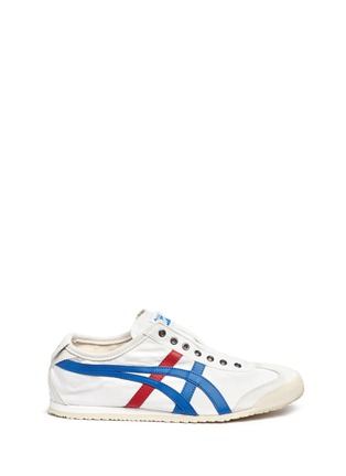 Main View - Click To Enlarge - Onitsuka Tiger - 'Mexico 66' unisex canvas slip-on sneakers