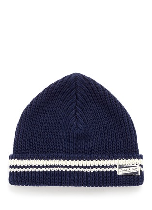 Main View - Click To Enlarge - Scotch & Soda - Cotton beanie