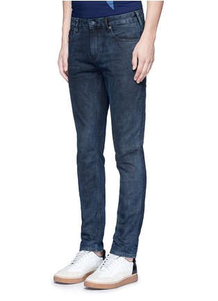 Front View - Click To Enlarge - Scotch & Soda - 'Lot 22 The Skim' vintage stone wash jeans