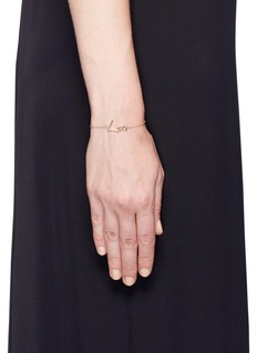 Stephen Webster 'Neon Love' 18k yellow gold charm bracelet
