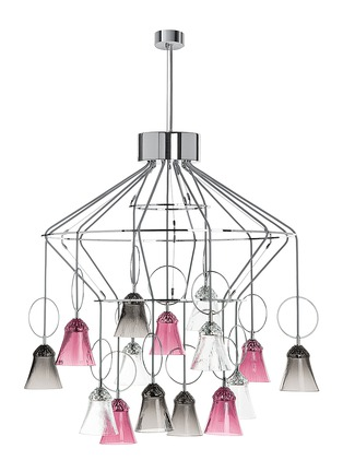 Saint-Louis Crystal - Apollo 15-light chandelier