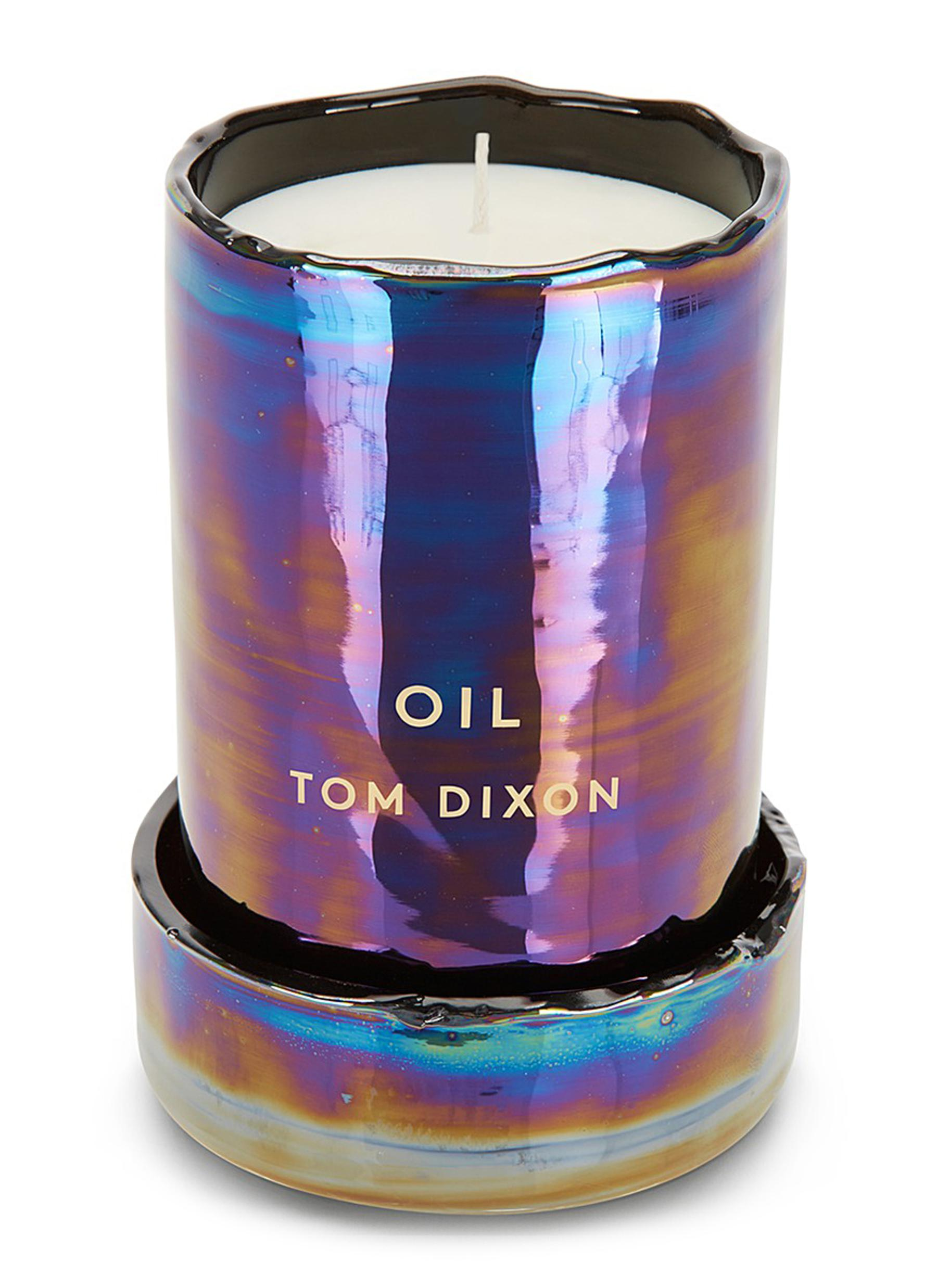 Oil large scented candle by Tom Dixon